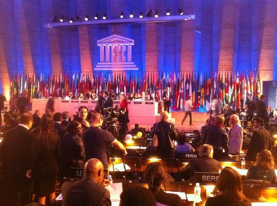 Bild från generalkonferens.