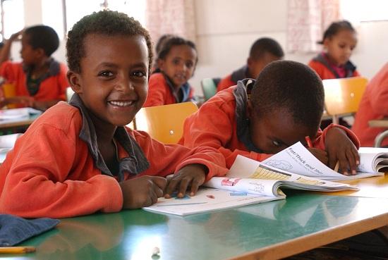 Studenter i Etiopien © UNESCO / Niamh Burke