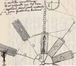 Patentansökan för evighetsmaskin ur Alfred Nobels arkiv