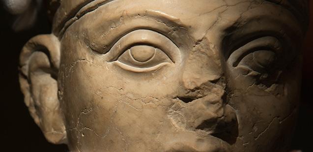 Delar av kulturarv från Palmyra