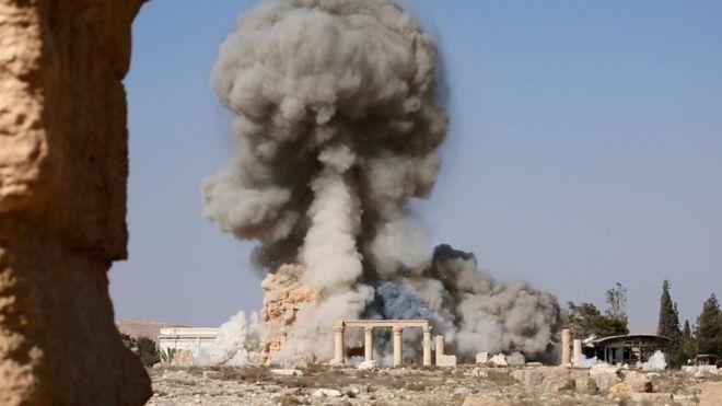 Kulturarvsförstörelse i Palmyra, Syrien