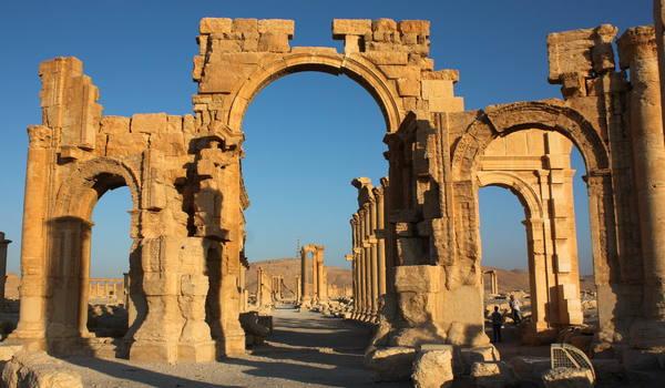 Triumfbågen i Palmyra, Syrien