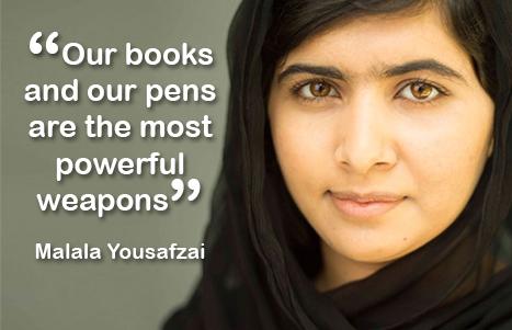 Malala världsbokdagen