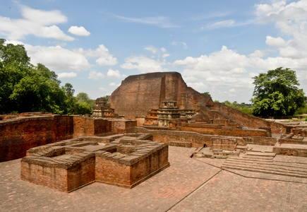 Världsarvet Nalanda Mahavihara Foto: © Rajneesh Raj