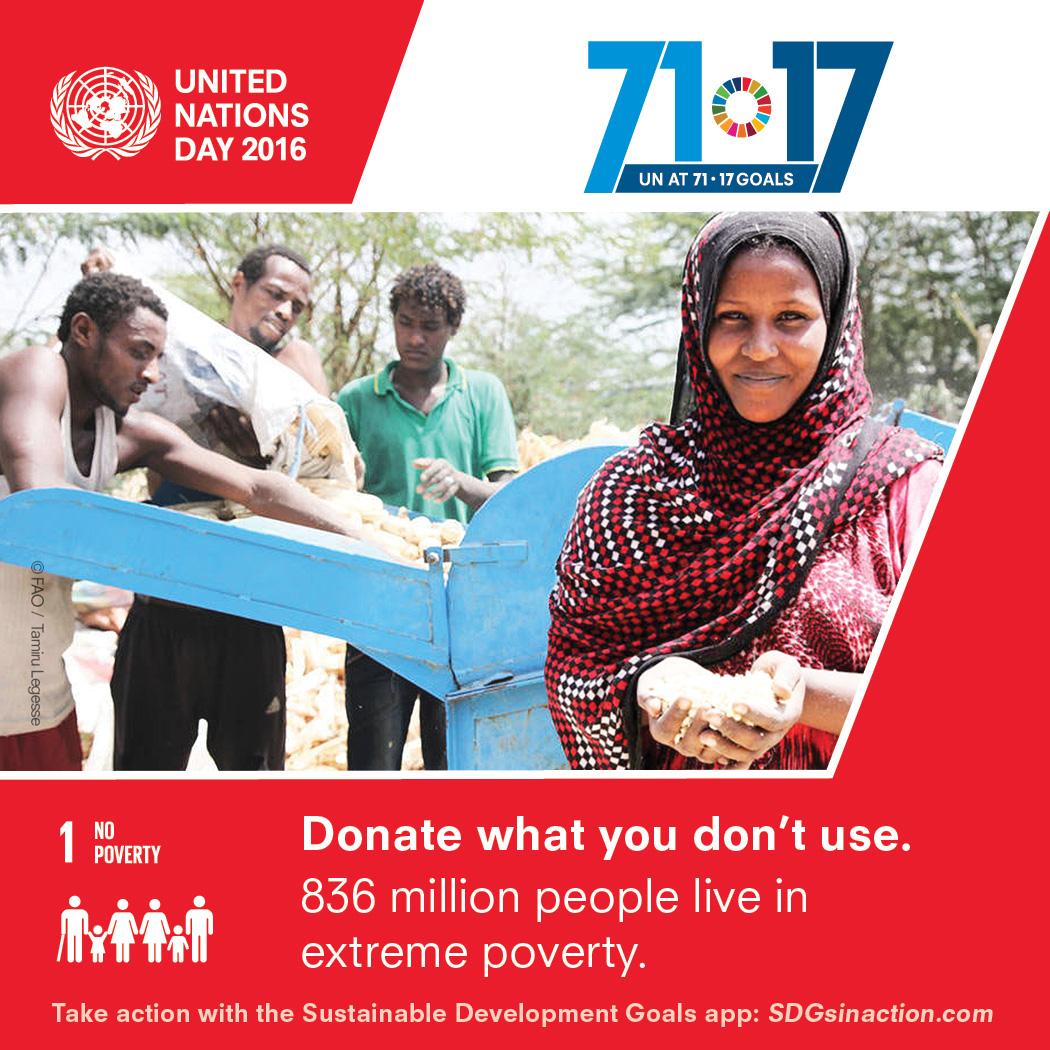 Pressbild FN-dagen. © Unesco