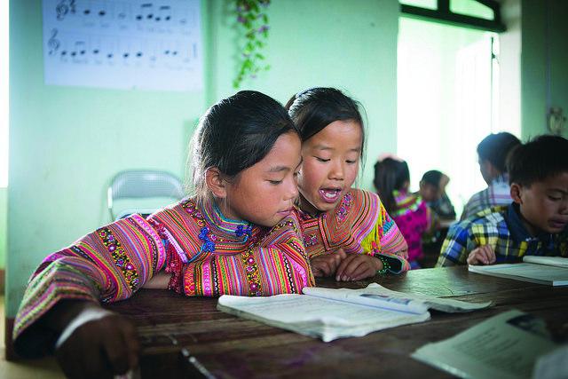 Skolbarn i Vietnam ©Tuan Nguyen/Unesco