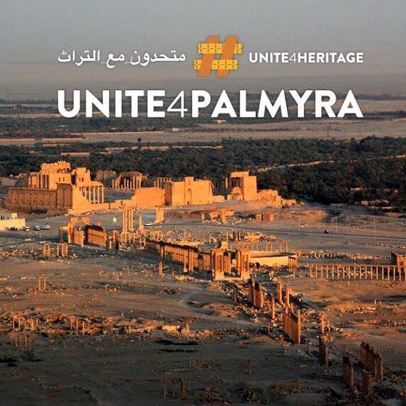 Unescos världsarvsstad Palmyra i Syrien. © Unesco/#Unite4heritage