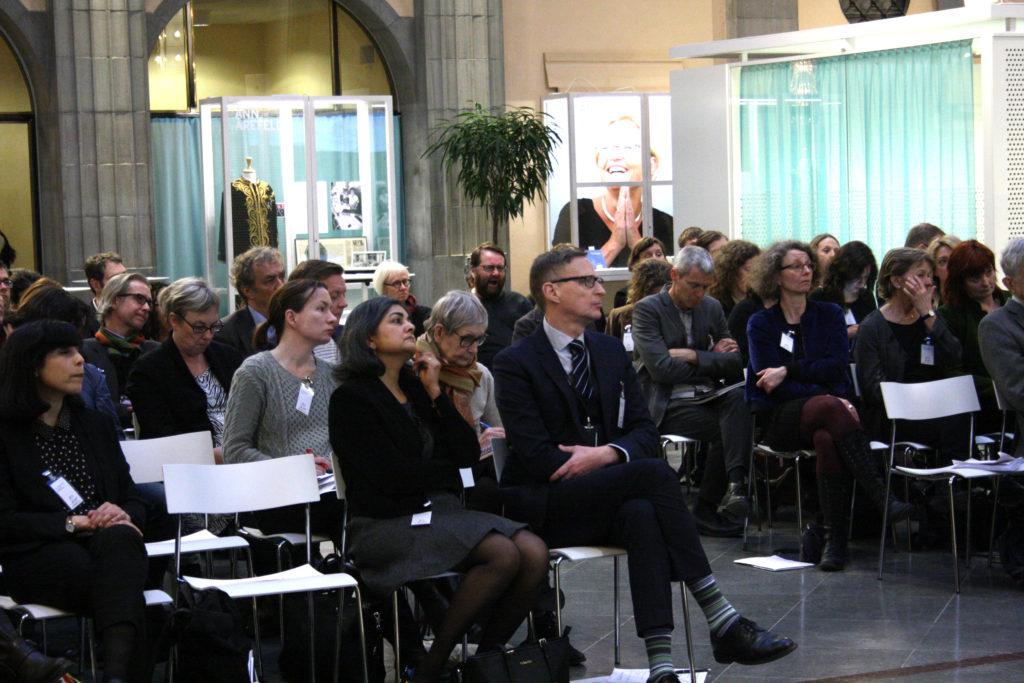 Bild från seminariet - åhörarna