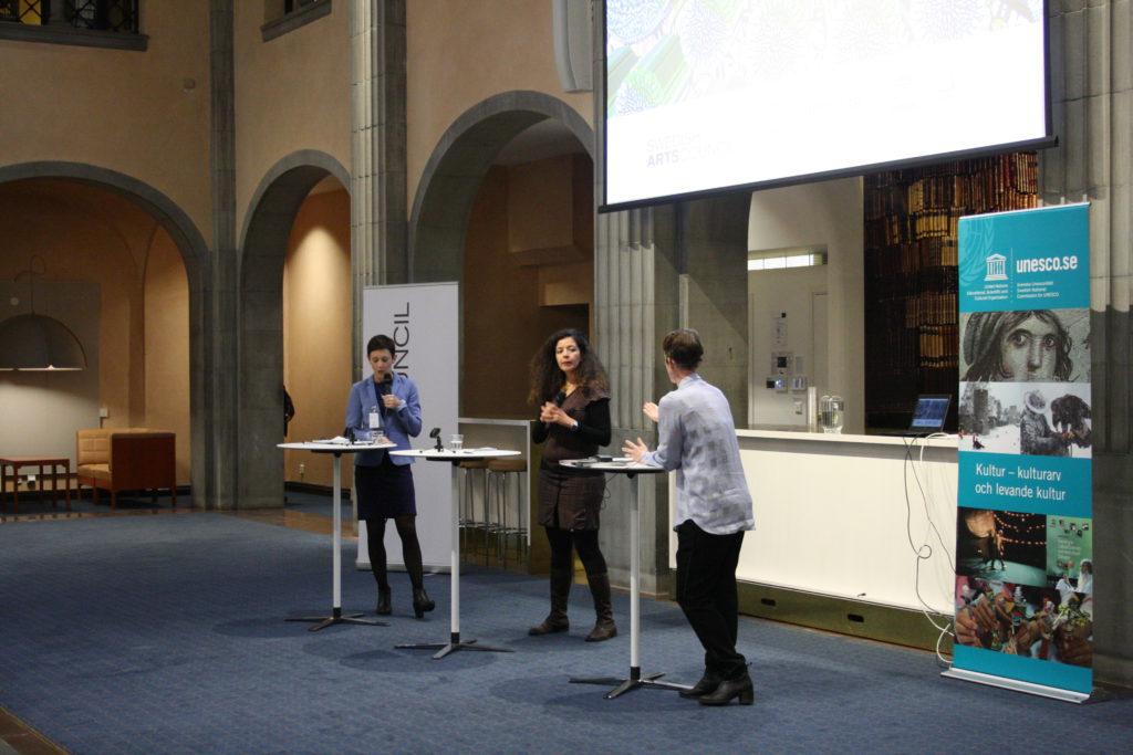 Bild från seminariet - panelen