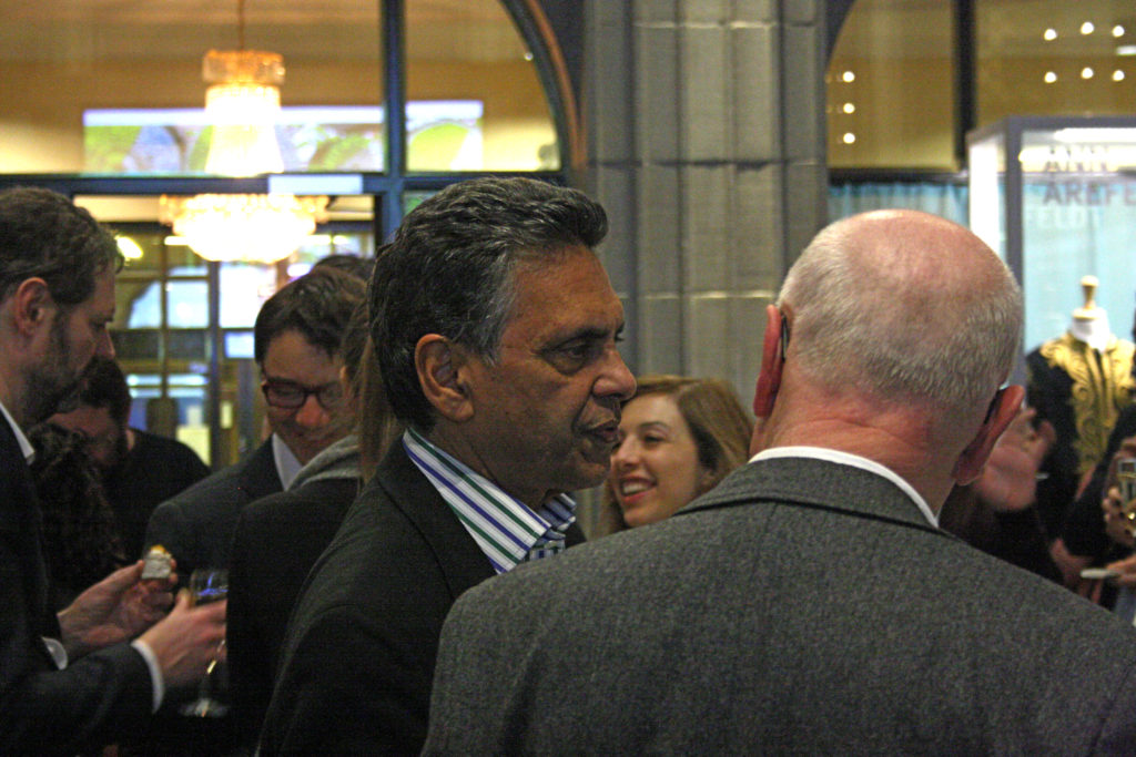Bild från seminariet - mingel