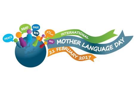 Pressbild för international mother language day 2017