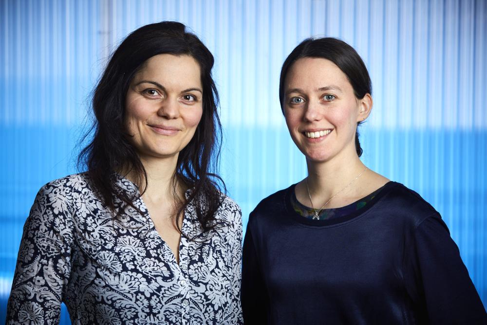 Kirsten Leistner och Julia Uddén