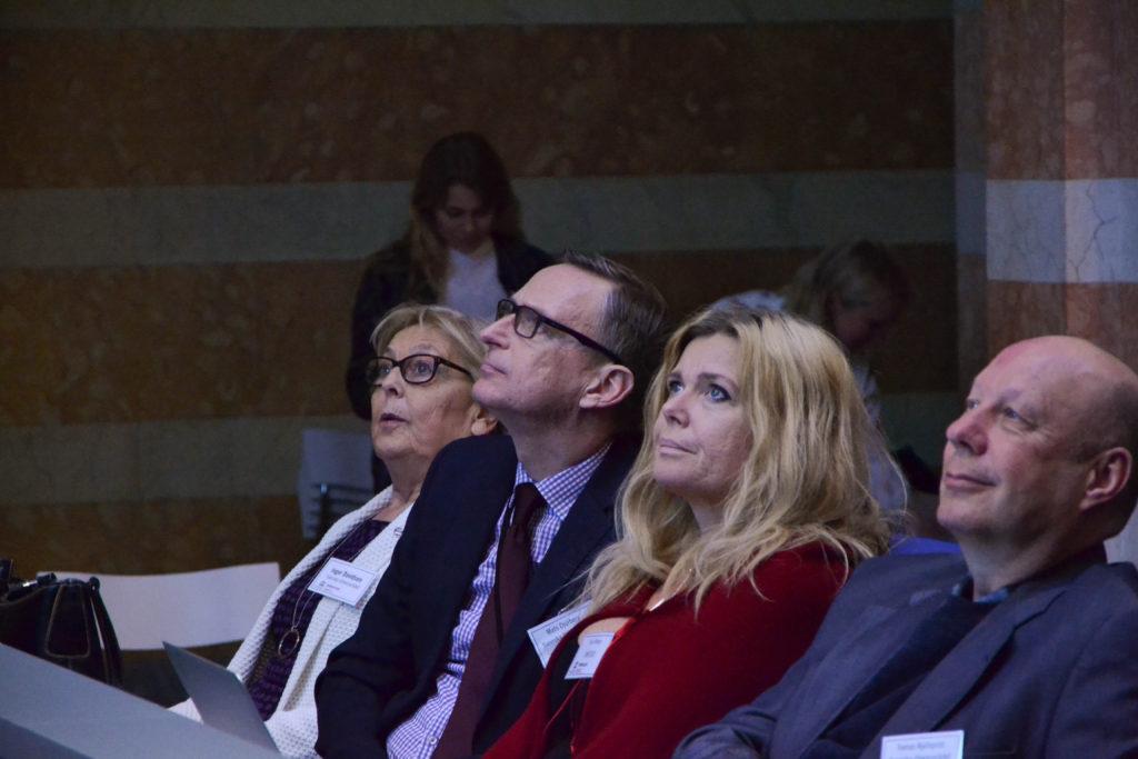 Inger Davidson, Mats Djurberg, Eva Friman och Tomas Kjellkvist, Svenska Unescorådets vice ordförande