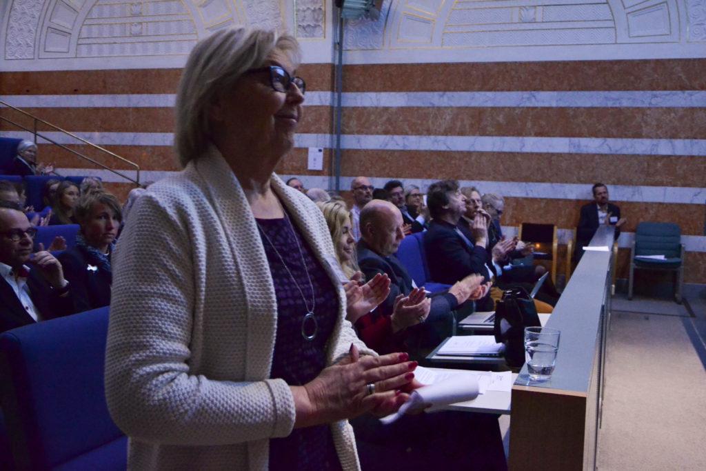 Svenska Unescorådets ordförande Inger Davidson