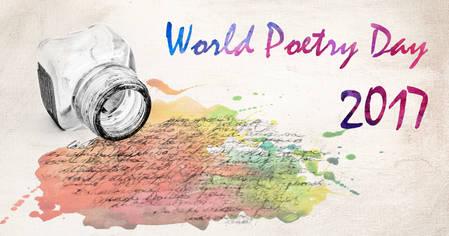 Pressbild för world poetry day 2017
