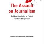 Bild på boken The Assault on Journalism.