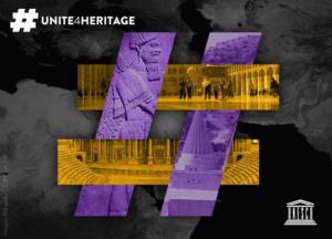 Logo for the campaign Unite4Heritage