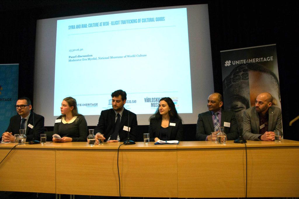 Bild på de experter som deltog.
