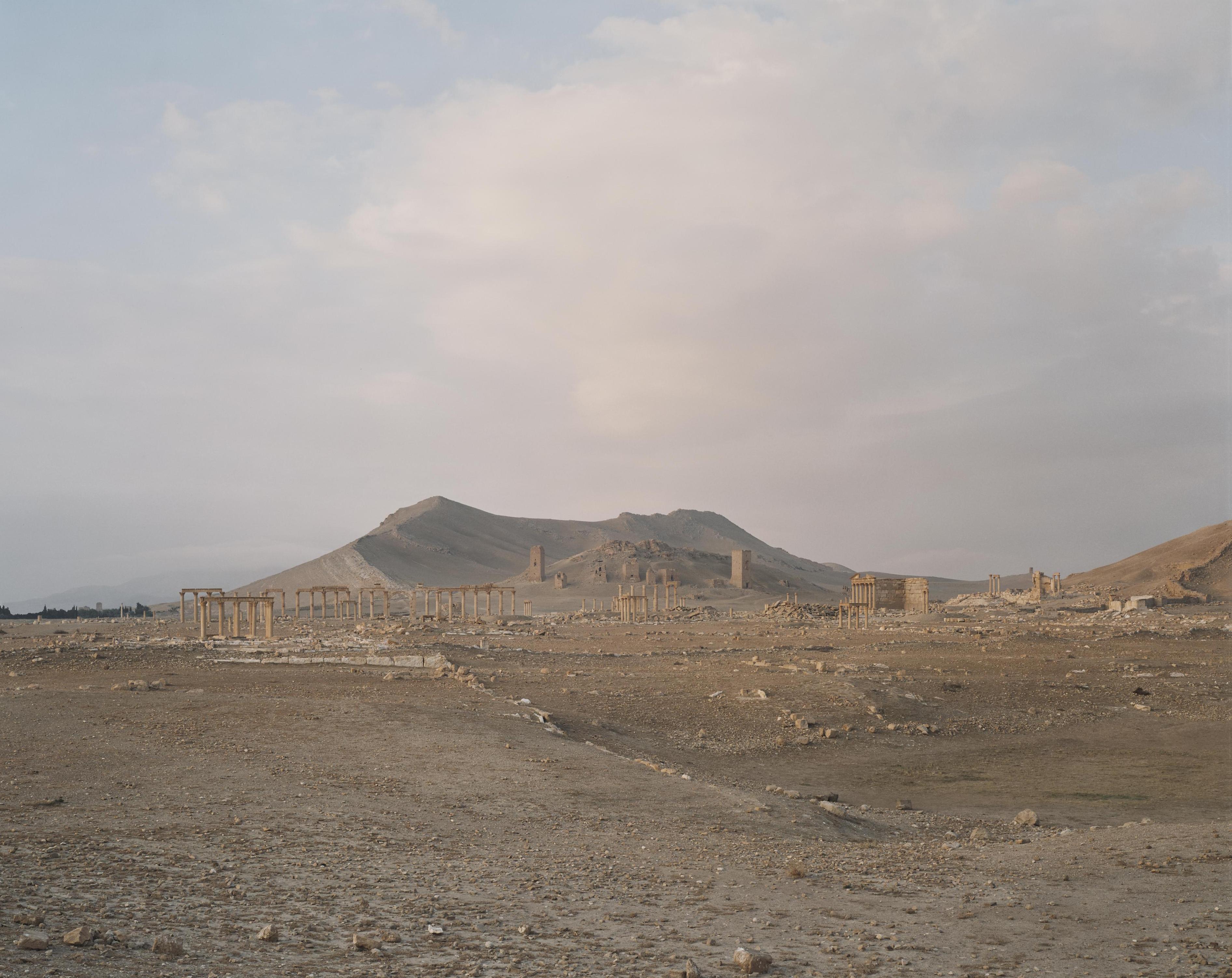 Vy över världsarvet Palmyra