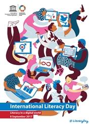 Poster internationella läskunnighetsdagen