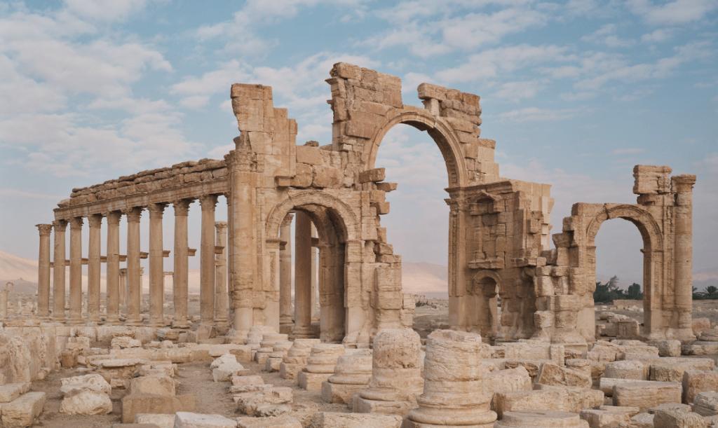 Bild från Palmyra, Syrien