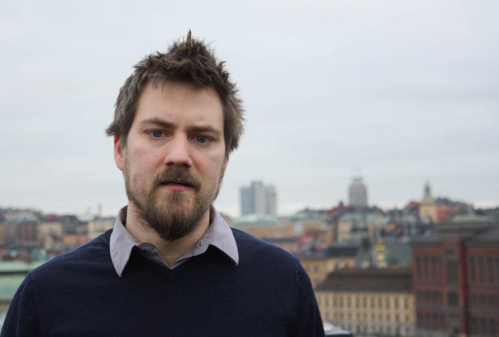 Eric Gustavsson, ordförande i Filosofilärarnas förening SOPHIA.